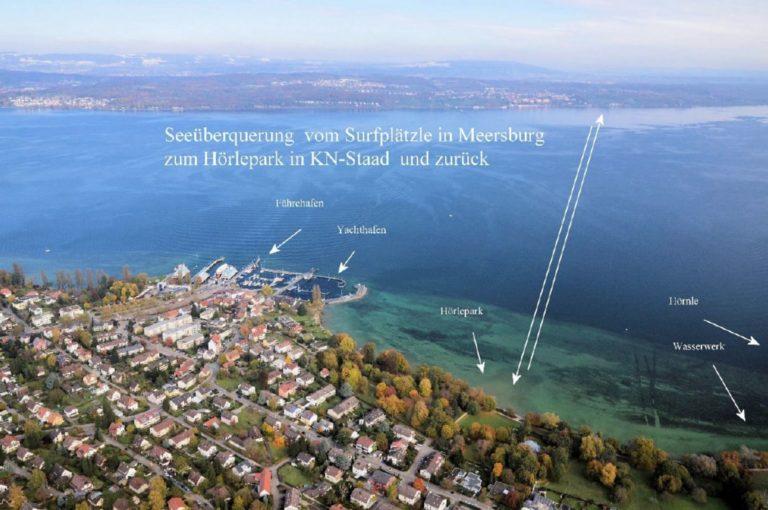 Read more about the article Ankündigung 4. Bodenseeüberquerung 2021 Meersburg-Konstanz (Stand-Up-Paddle SUP, Kanu)